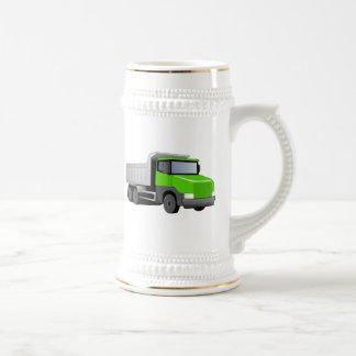 Green Dump Truck Beer Steins