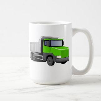 Green Dump Truck Mugs
