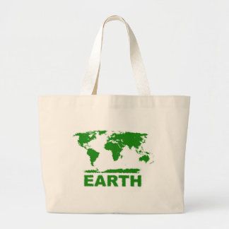 green earth canvas bag