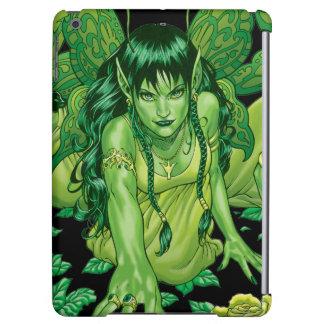 Green Earth Fairy Illustration by Al Rio