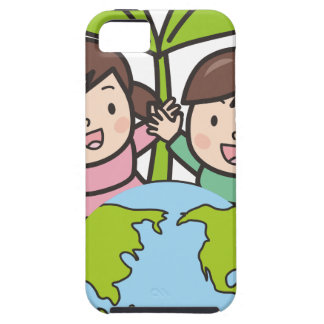 Green Earth iPhone 5 Cover