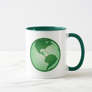 Green Earth Mug