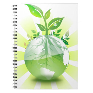 Green Earth Notebook