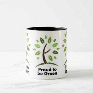 green eco coffee.tea mug