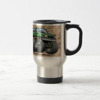Green Eddie Bauer Bronco Travel Mug