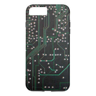 Green Electronic Circuit Board iPhone 7 Plus Case