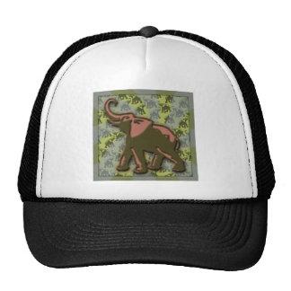 Green Elephant Mesh Hats