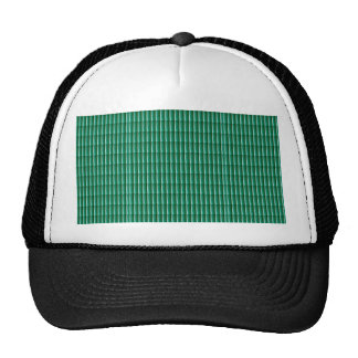 Green Embossed Stripes TEMPLATE add TEXT IMG Gifts Trucker Hat