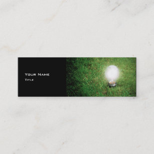Renewable energy business cards zazzle au green energy business card template reheart Images