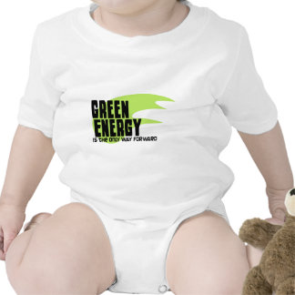 Green Energy is the Only Way Forward Bodysuit