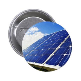 Green Energy Solar Power Buttons