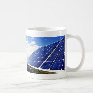 Green Energy Solar Power Basic White Mug