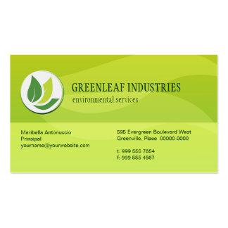 Green Environmental Business Card