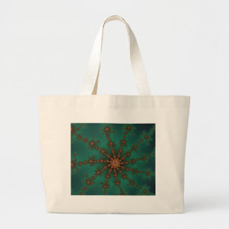 Green Event Burst Canvas Bags