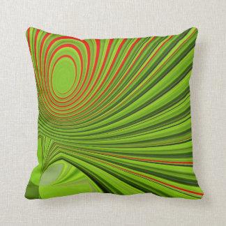 Green examined cushion