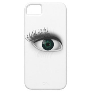 Green eye. iPhone 5 cover