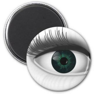 Green eye. magnet