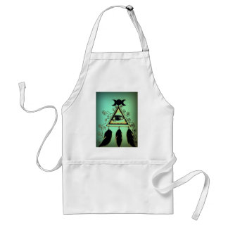 Green Eye of Providence Standard Apron