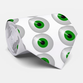 Green Eye Tie