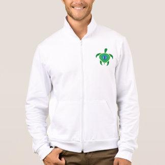 Green Eye Turtle Men's Jacket