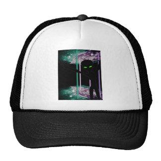 Green Eyed Alien on Space Dance Floor Trucker Hat