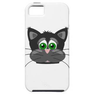 Green-eyed black Cat iPhone 5 Cover