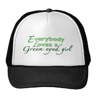 Green Eyed Girl Cap