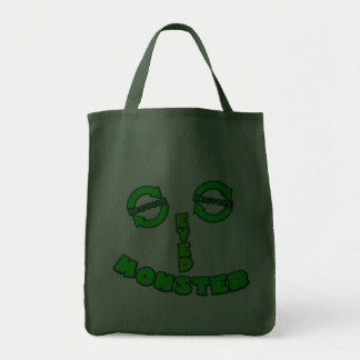 Green Eyed Monster Tote Bag
