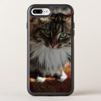 Green Eyed Wonder Kitty phone case