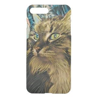 Green Eyed Wonder Kitty phone case 2