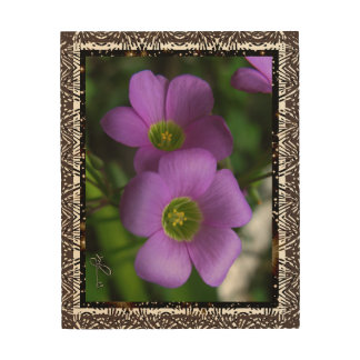 Green Eyes Wild Plant Wood Wall Art