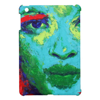Green Face Case For The iPad Mini