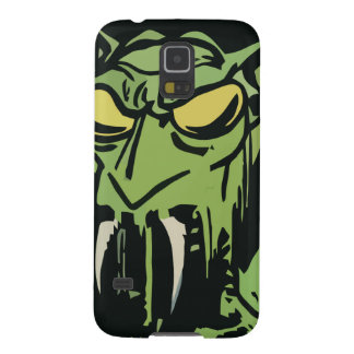 Green Face Monster Case For Galaxy S5