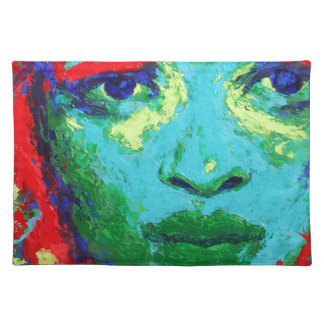 Green Face Placemat