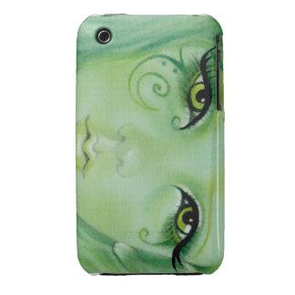 Green Fairy Swirls Speck Case iPhone 3 Case
