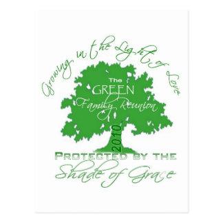 Green Family Reunion 2010 Postcard