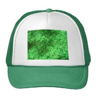 Green Faux Fur Hat