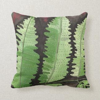 Green Fern American Mojo Pillow Throw Cushion