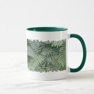 Green Fern Mug