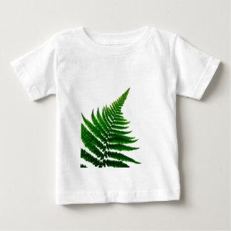 Green Fern prints Woodlands Leaf Baby T-Shirt