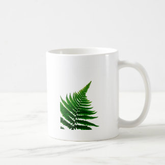 Green Fern prints Woodlands Leaf Coffee Mug