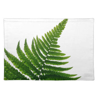 Green Fern prints Woodlands Leaf Placemat