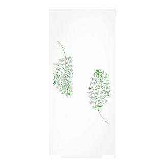 Green Fern, Wedding menu cards