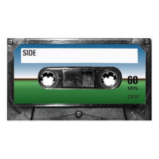 Green Field Horizon Cassette Business Cards