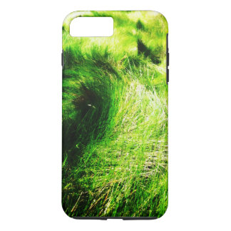 Green field iPhone 7 plus case