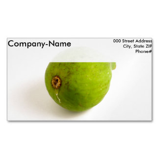 Green Fig Magnetic Business Cards