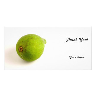 Green Fig Personalised Photo Card