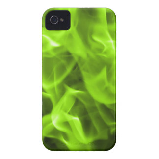 Green Fire iPhone 4 Case-Mate Cases