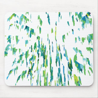 Green Firework #2 Mouse Pad