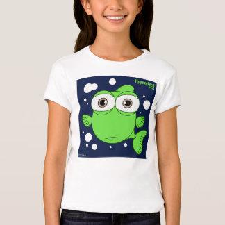 Green Fish Girls' Bella Fitted Babydoll T-Shirt